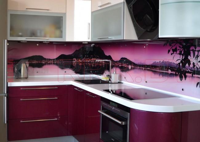 Кухня со скинали №107