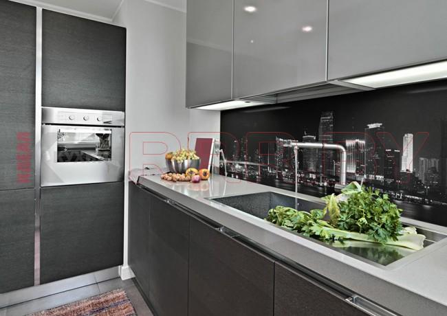 Кухня со скинали №111