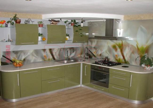 Кухня со скинали №127