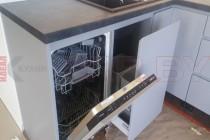 Кухня из МДФ крашенного №136