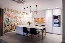 Кухня из пластика №57