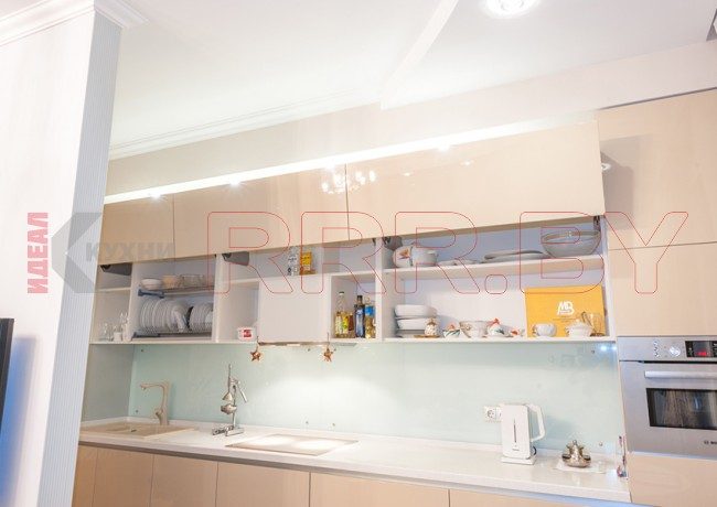 Кухня из МДФ крашенного №41