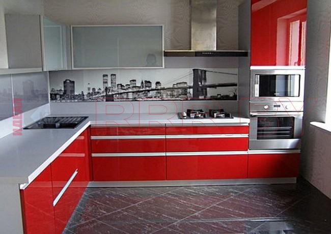 Кухня из пластика №70