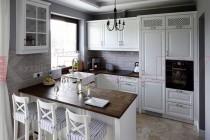Белая кухня №103