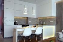 Белая кухня №105