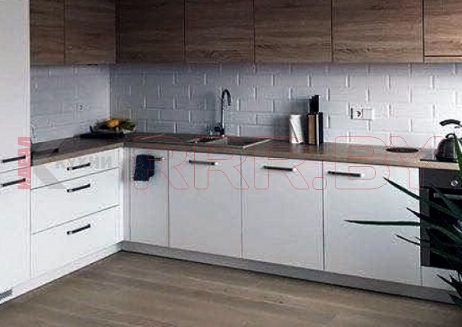 Белая кухня №107