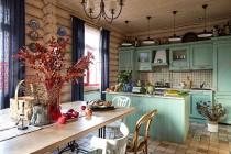 Кухня в стиле кантри №107