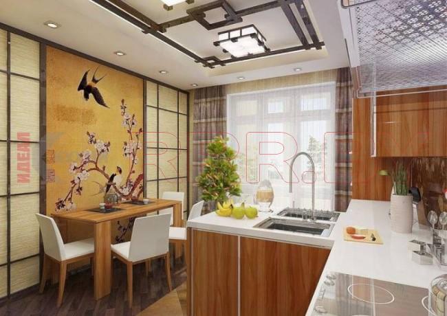 Кухня в китайском стиле №100