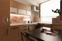 Кухня в китайском стиле №102