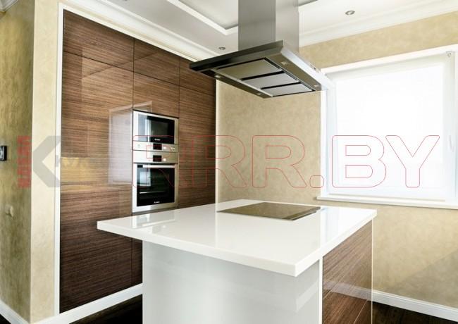 Кухня из МДФ крашенного №163