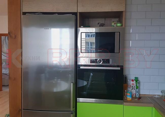 Кухня без ручек №72
