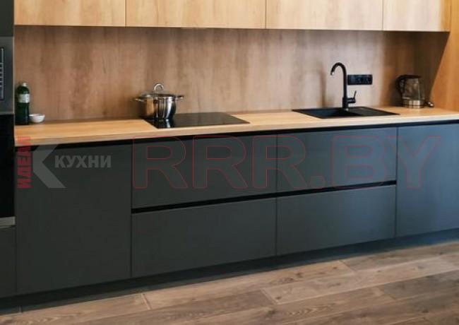 Кухня из пластика Феникс  FENIX NTM №01