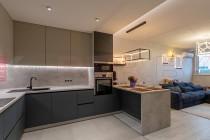 Кухня из Феникс  FENIX NTM №04