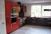 Угловая кухня под окно  №3