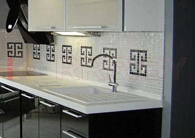 Кухня из пластика №7