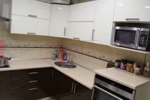 Кухня из МДФ крашенного №11