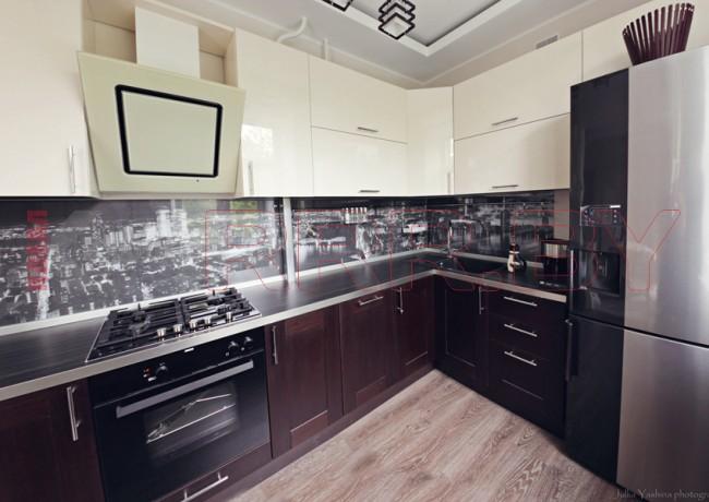 Кухня из МДФ рамочного №52