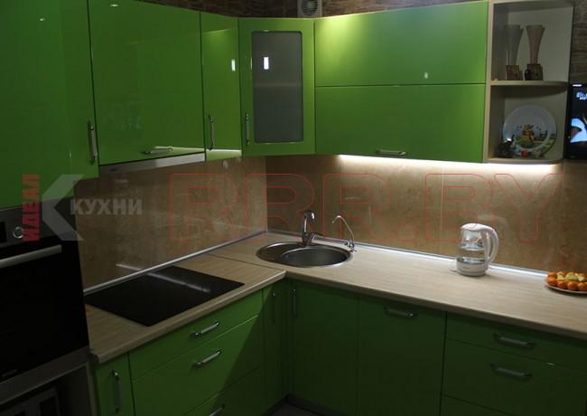 Кухня из МДФ крашенного №25