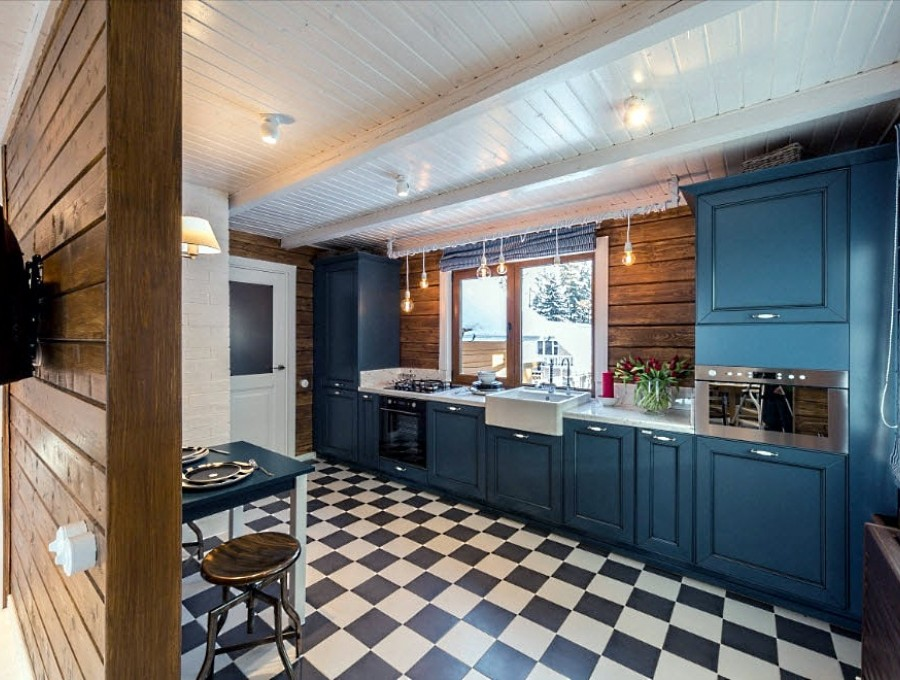 Кухня в стиле кантри №102