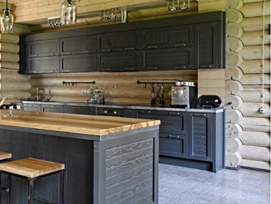 Кухня в стиле кантри №104