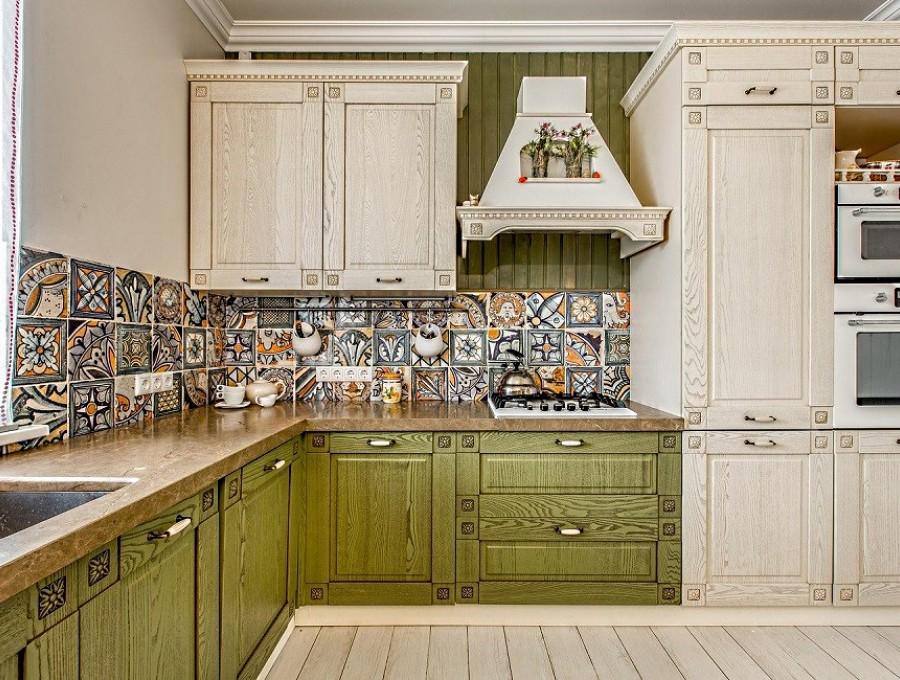 Кухня в стиле кантри №106