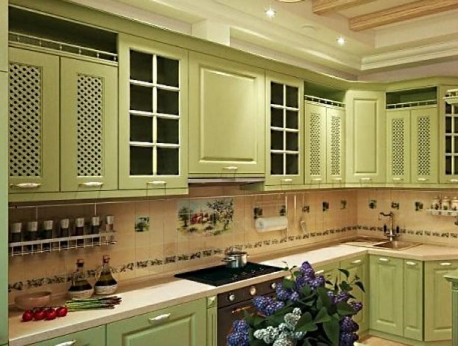 Кухня в стиле кантри №109
