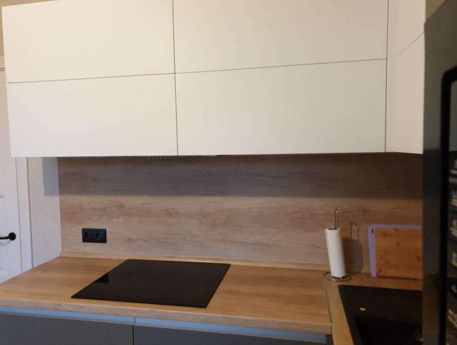 Кухня угловая Fenix №07