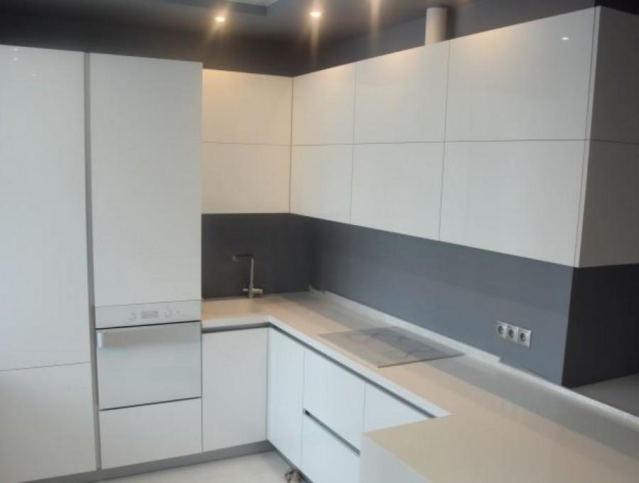 Белая кухня №115