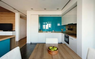 Кухни с глянцевыми фасадами Alvic