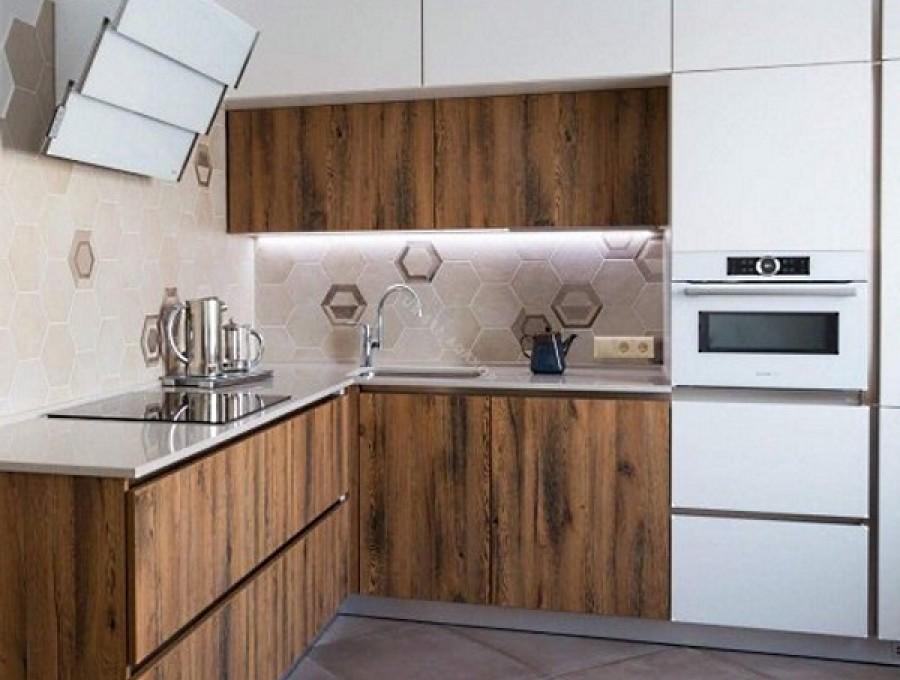 Кухня без ручек №70