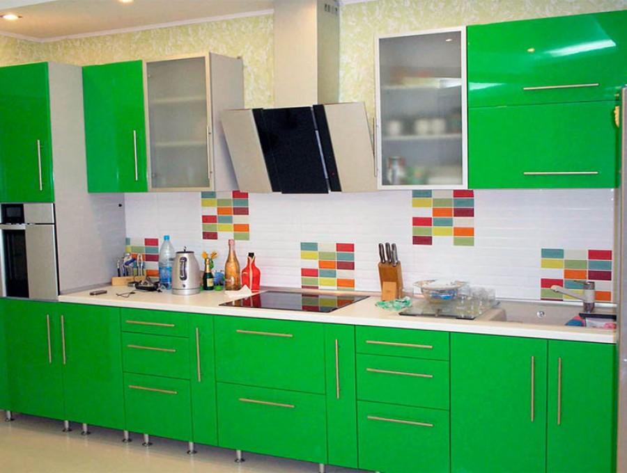 Кухня из акрила №55