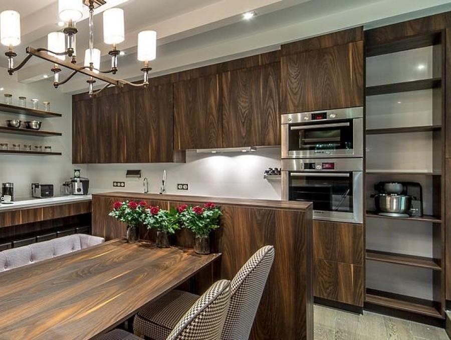 Кухня из ДСП Cleaf №225