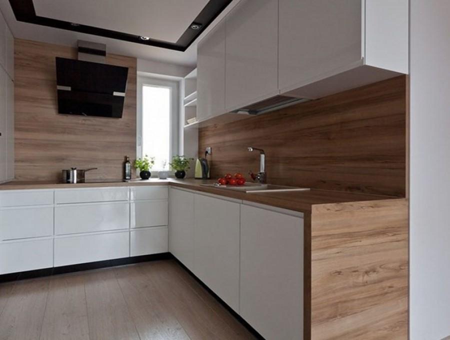 Кухня из МДФ крашенного №139