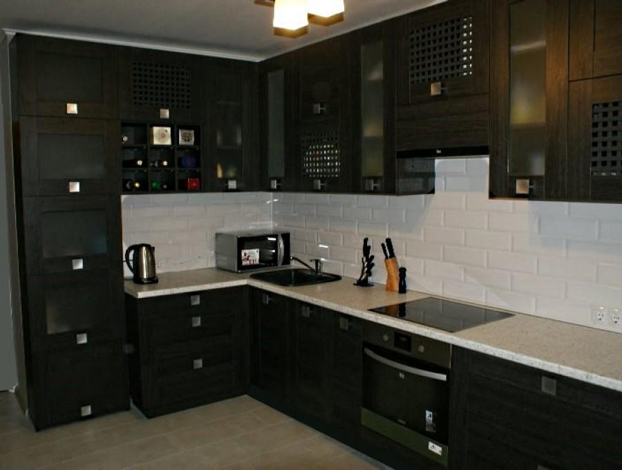 Кухня из МДФ рамочного №46