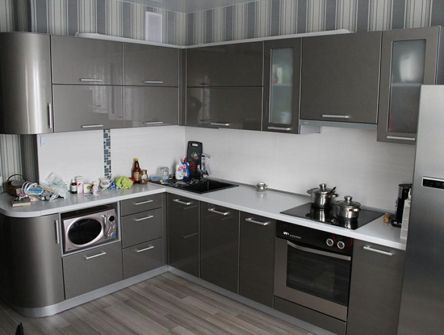 Кухня из пластика №15