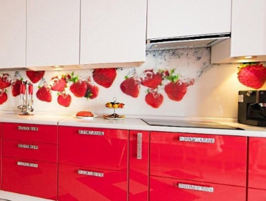 Кухня из пластика №2