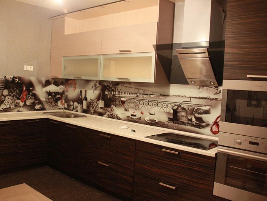 Кухня из пластика №53