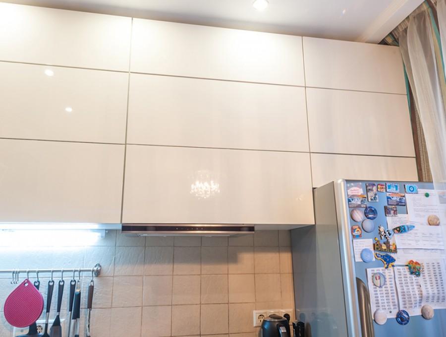Кухня из пластика №60