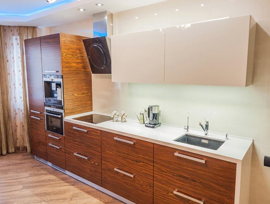 Кухня из пластика №64