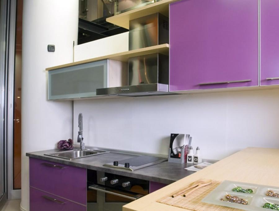 Кухня из пластика №67