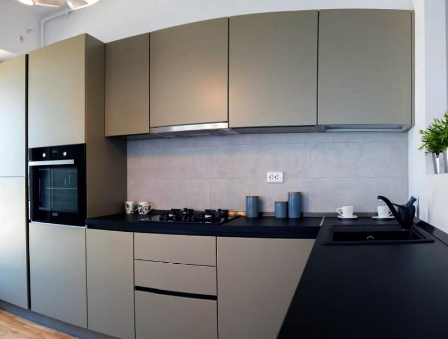 Кухня из пластика №9