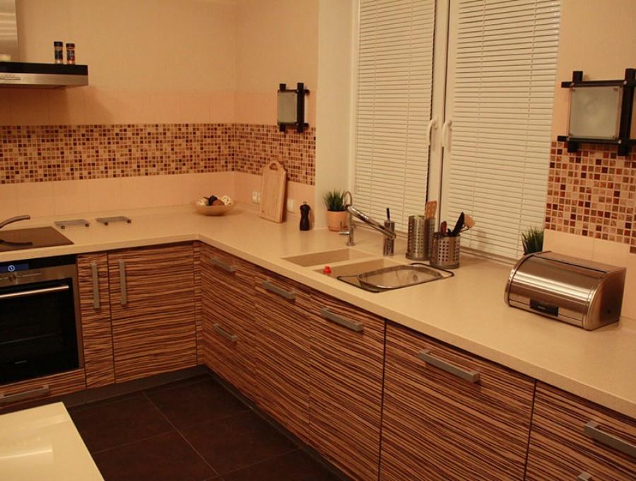 Кухня из шпона №21
