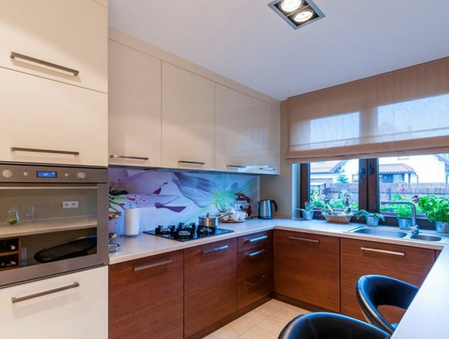 Кухня под окно №76