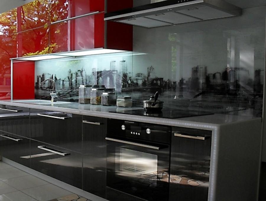 Кухня со скинали №10