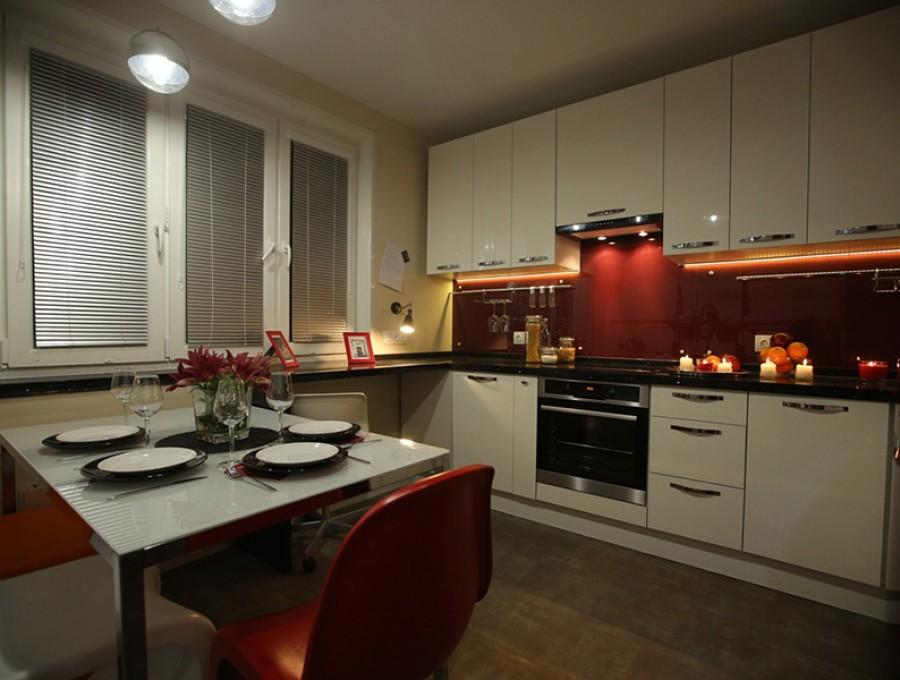 Кухня со скинали №112