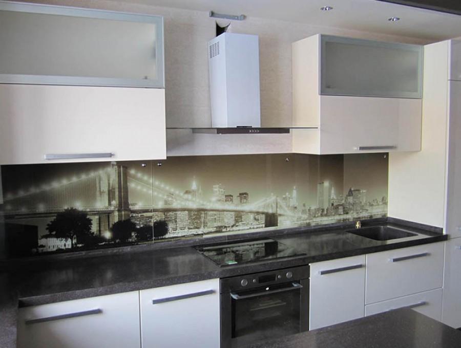 Кухня со скинали №114