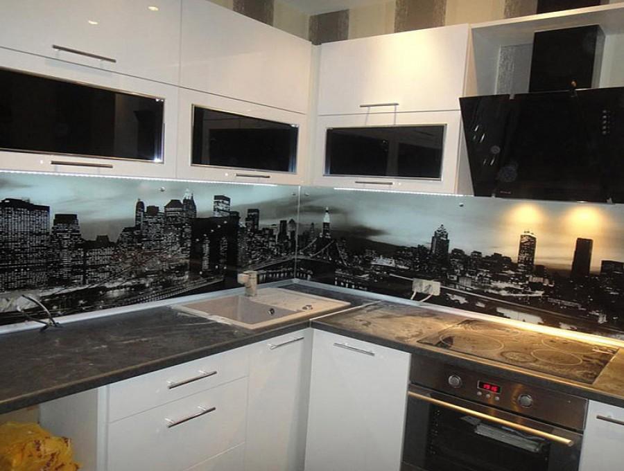 Кухня со скинали №117
