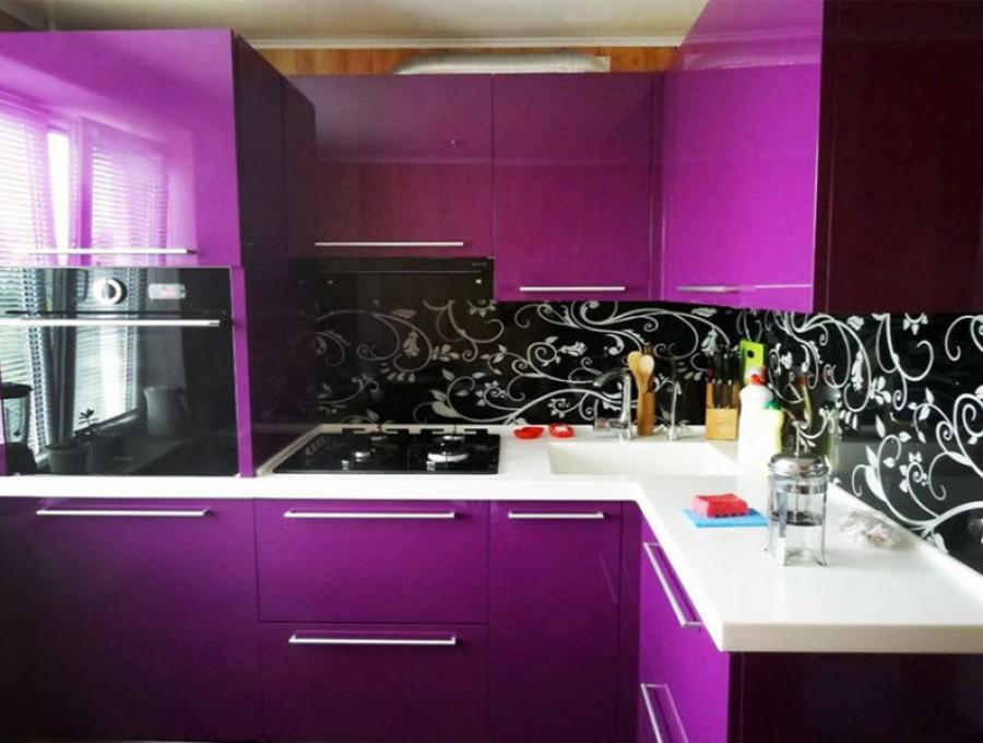Кухня со скинали №125