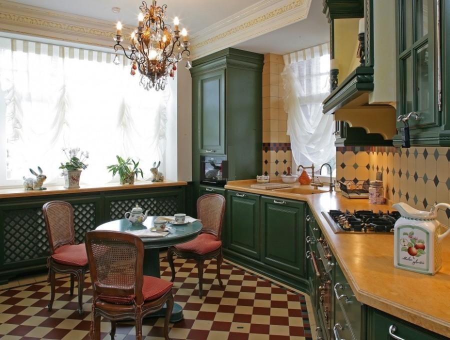 Кухня в английском стиле №103