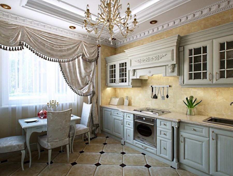 Кухня в английском стиле №105